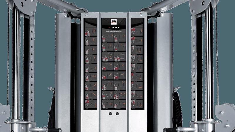 L370 Dual adjustable pulley / Monitoimitalja